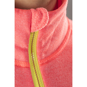 Craft Spark Suéter de media cremallera Mujer, panic melange/grey melange/go